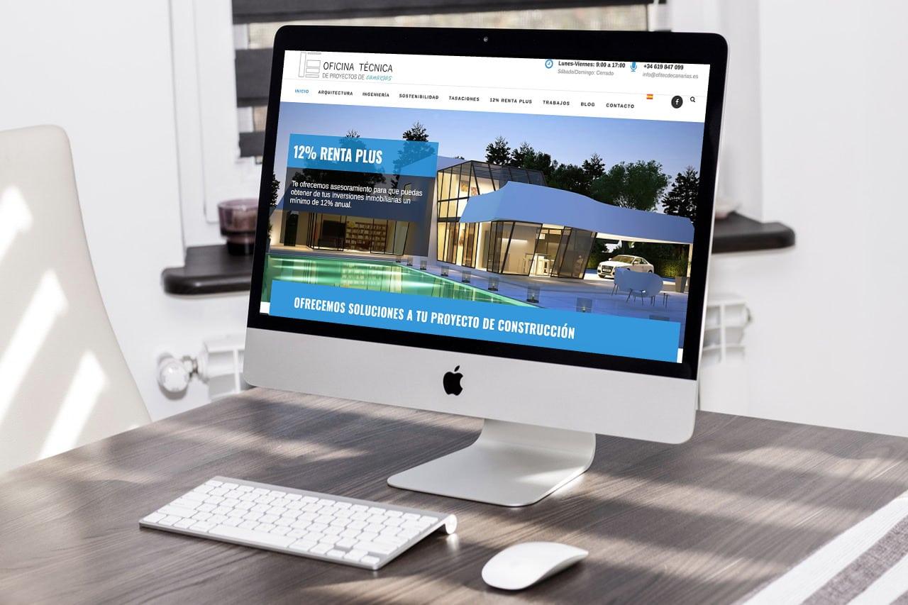 Web OFITEC de Canarias por SomosMarketers