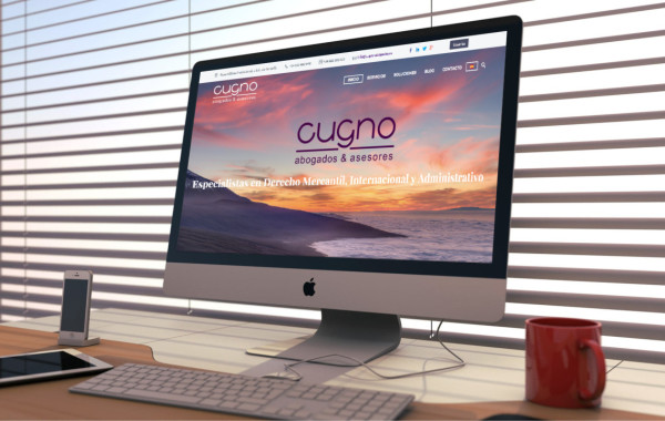 Web Cugno Abogados - SomosMarketers