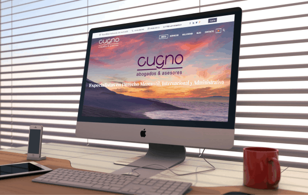 Cugno Abogados Web - SomosMarketers
